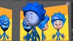 Секреты фиксиков. 3D-модели. Как создается мультфильм (2)