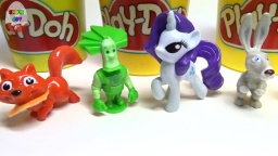 Play-DOE New Toys in Banks( kinder eggs )